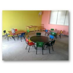 Tables en bois et et chaise...